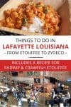 Things to do in Lafayette LA pin