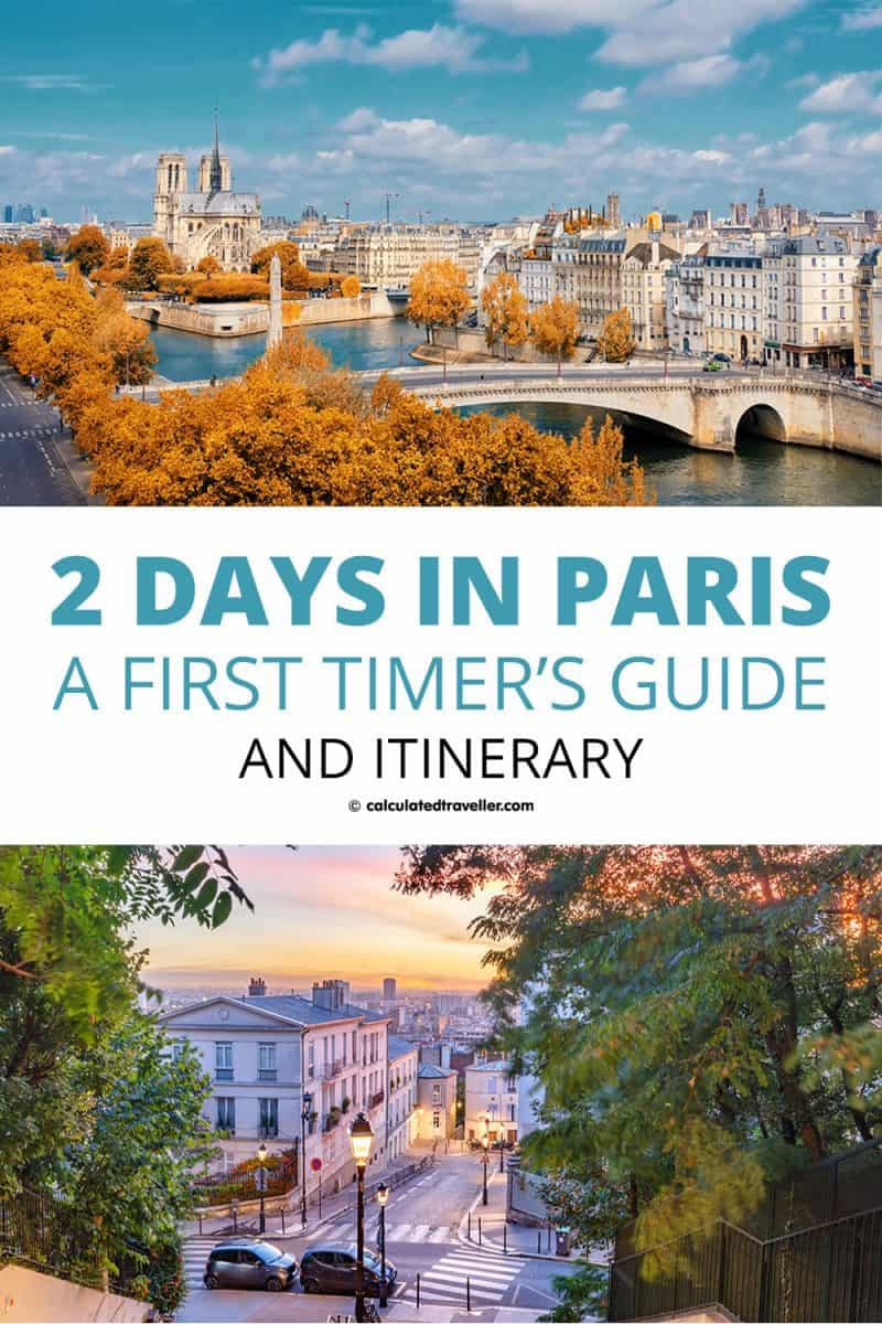 Two Days in Paris Pin