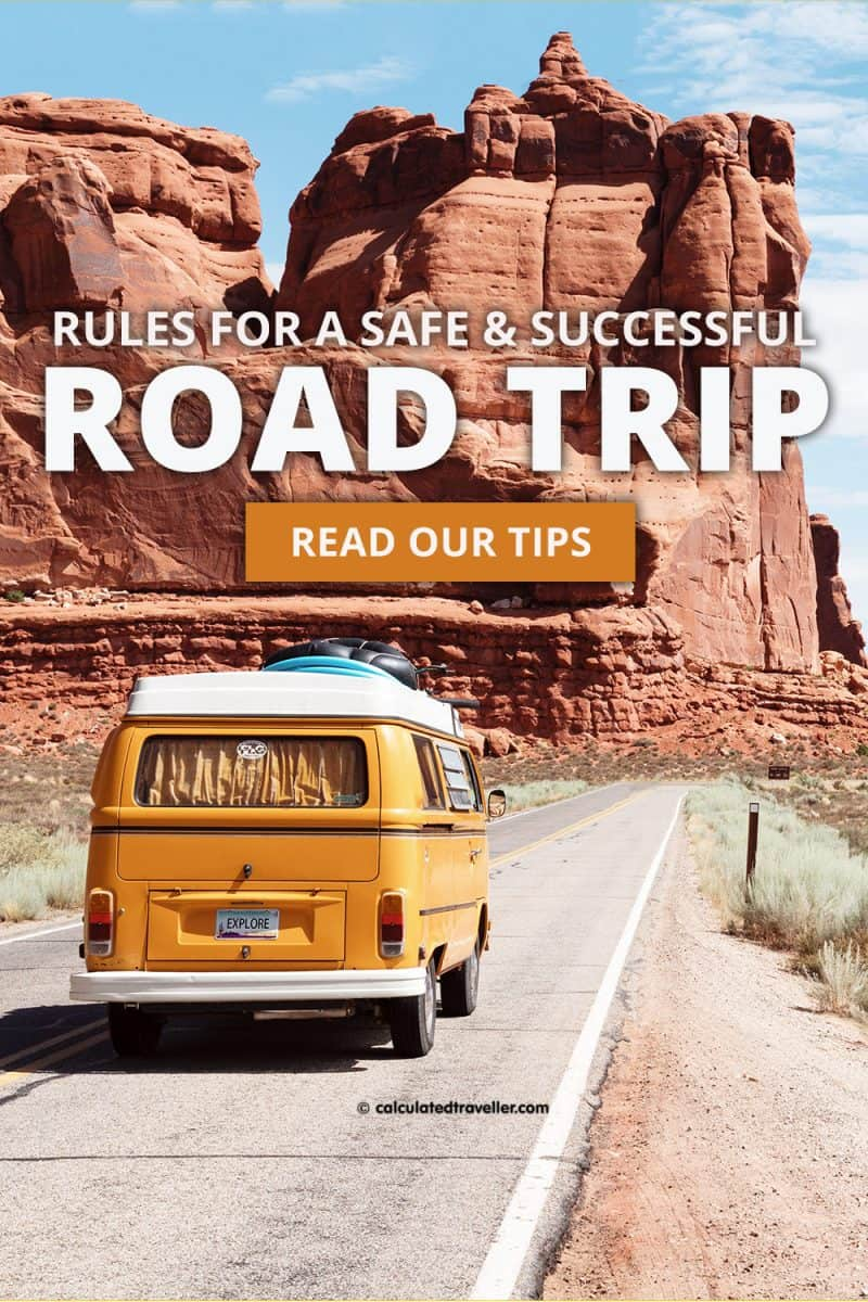 Rules for a safe Road Trip