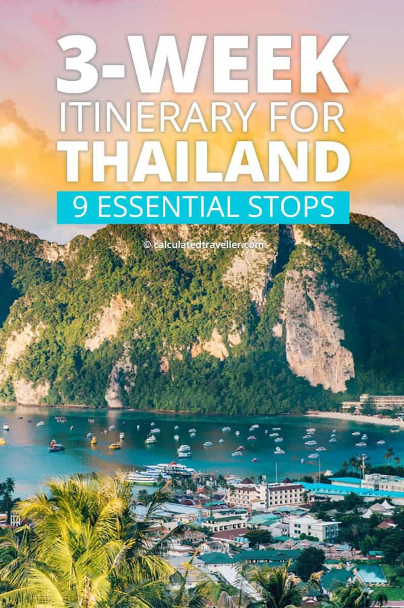 3 week itinerary for Thailand - Phi Phi Island