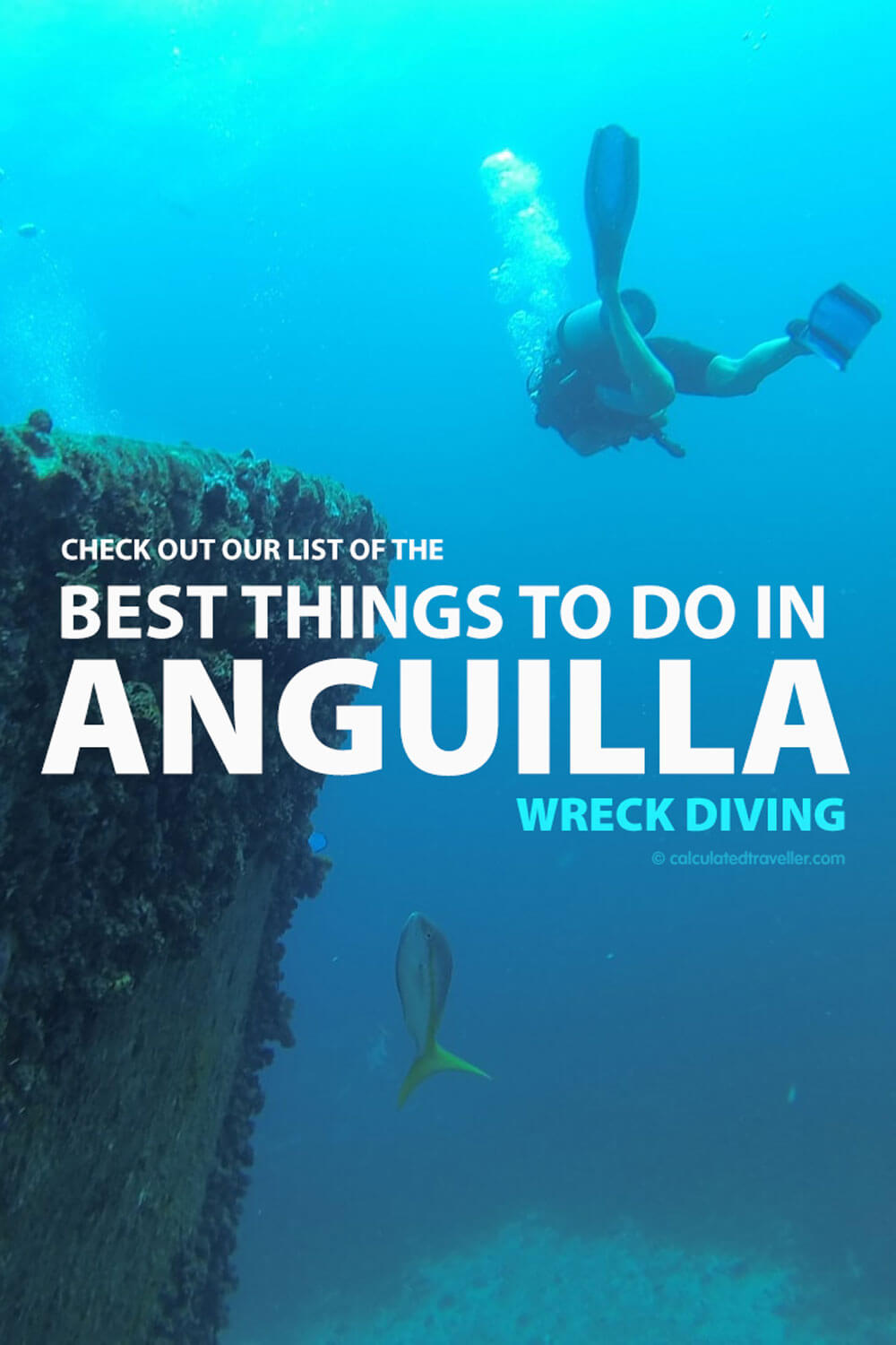 wreck diving - one of the best things to do in Anguilla British Caribbean