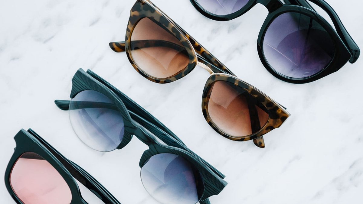 guide to pick perfect sunglasses - grouping of sunglasses
